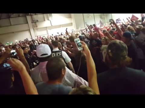 Witness Testimony +  Video ---  Reno Rally - People Screamed Gun - NUT holding REPUBLICANS AGAINST TRUMP Sign