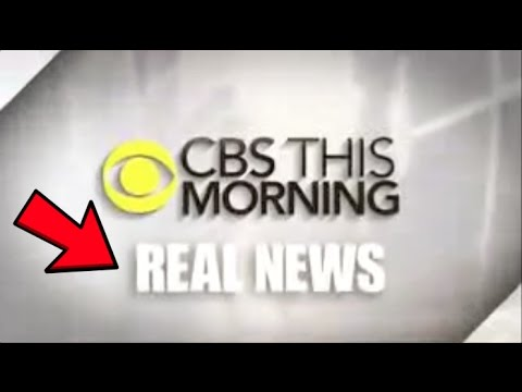 """CBS New Slogan is """"Real News"""" (Seriously)"""