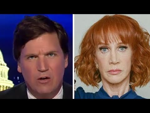 """This Isn't Funny!"" Tucker GOES OFF on Kathy Griffin, CNN, and Liberal ""Comedians"""