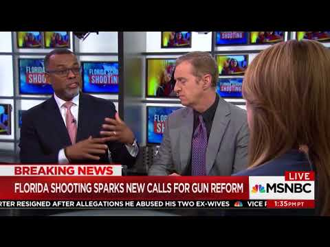 MSNBC Contributor: 'Toxic Masculinity' At The Heart Of 'Our Ongoing Obsession With Guns'