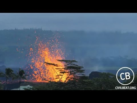 archived - Video: Kilauea Lava Flow Activity In Lower Puna