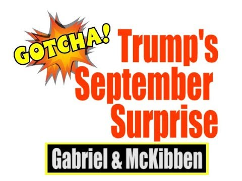 Trump's September Surprise is a Doozy