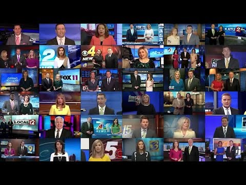Dozens of Local News Anchors Recite the Same Script