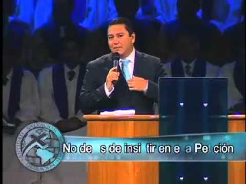 Pastor Javier Bertucci - No dejes de insistir en esa petición
