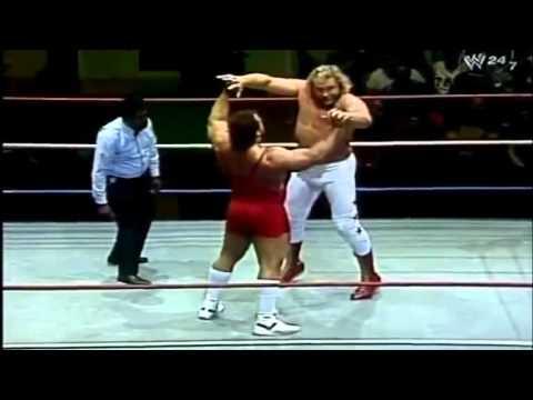 WWF BOSTON GARDEN Big John Studd vs Ted Arcini