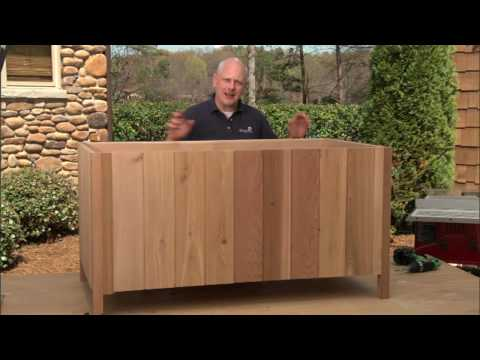 How to Build a Deck Storage Box Part 2: Add Cladding and Trim