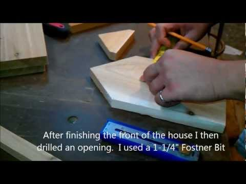 Making a Window Bird House - Nest Box