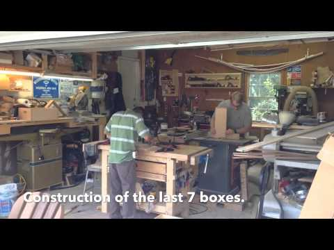 Watch the Construction of Diploma Boxes