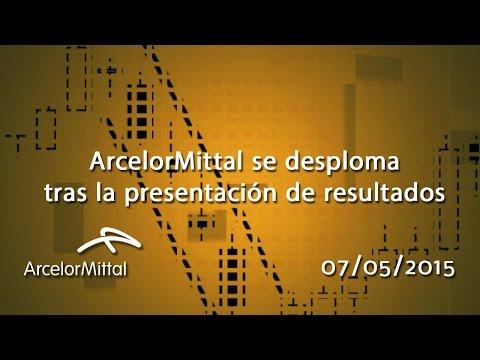 Vídeo análisis técnico ArcelorMittal: Se desploma tras la presentacion de resultados 07-05-15