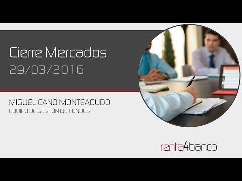 Video Analisis: Cierre bolsa 29 de Marzo por Renta4