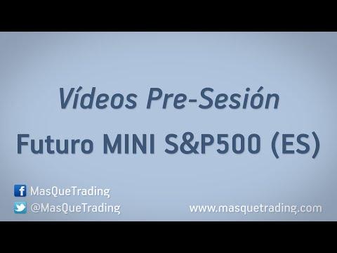 13-5-2016-Trading en español Análisis Pre-Sesión Futuro MINI SP500 (ES)