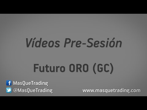 27-5-2016-Trading en español Análisis Pre-Sesión Futuro ORO (GC)