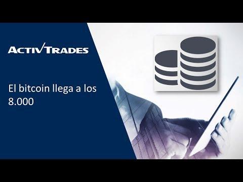 Video Analisis: El bitcoin llega a los 8.000
