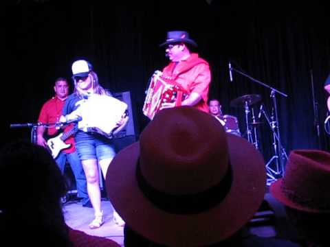 Yesey (Yesenia Garcia) Performing with Boni Mauricio at the Conjunto Fest in San Antonio
