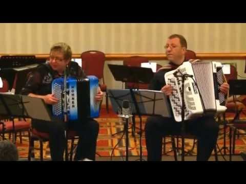 Musette Caprice. Stas Venglevski - Accordion Duo Elena & Gregory