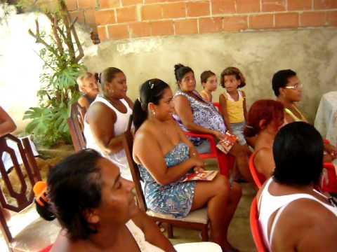 Oficina do  Projeto Caravana do Axé no Ilê Olorofibô (parte 01)