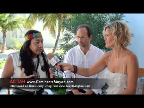 Mayan & ETs, Light Beings, 3rd eye - Ac Tah, Mexico Part 2-3