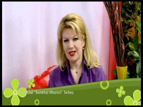 """,,NE VEDEM LA 5"""" cu Dorina Roman,Cenaclul ,,Sunetul Muzicii"""" la TVS Brasov ,partea 1.mp4"""