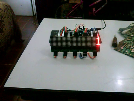 matrix de led com max72xx by (Rtc e arduino)