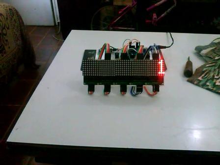 matrix de led com max72xx by (Rtc e arduino)