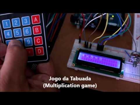 Jogo da Tabuada com Arduino, Keypad, LCD e Buzzer
