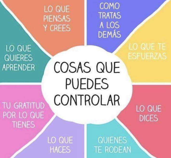 Cosas que puedes controlar