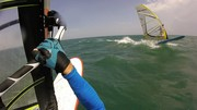 Kona and Exocet X-Longboard Wave 11-5 Wind-SUP sailing.