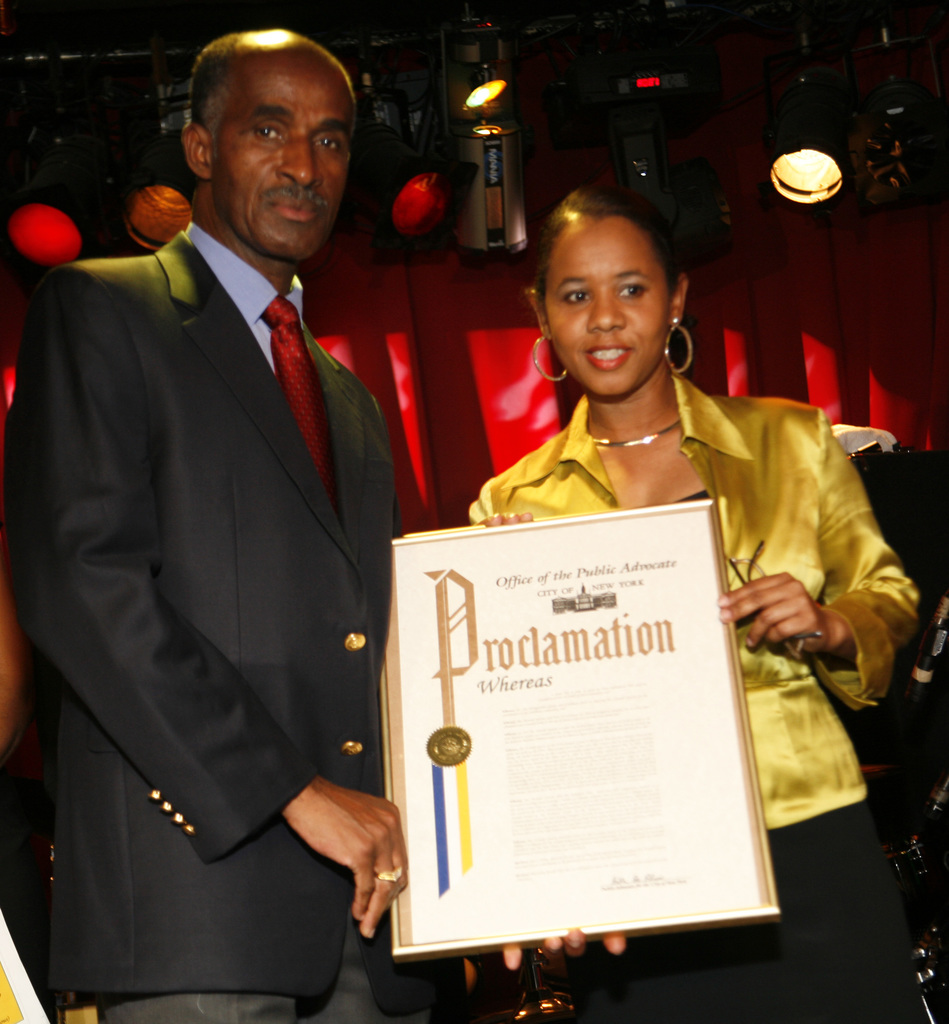 Five Time Olympian, Donald Quarrie, CD Receives Proclamation from