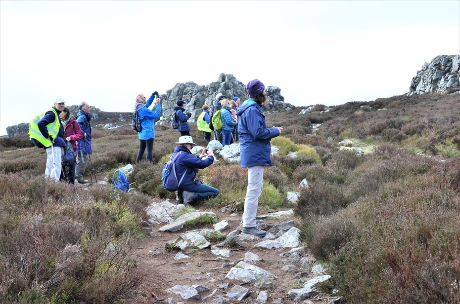 Photo Op at the Stiperstones, Shropshire, March 2019