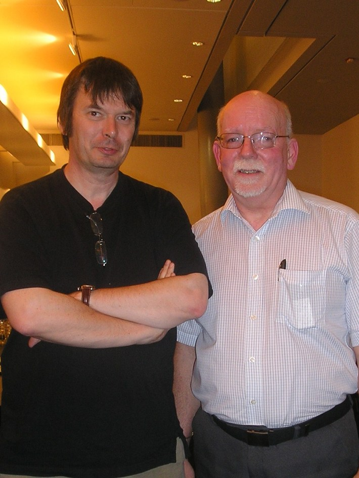 With Ian Rankin