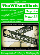 "ThaWilsonBlock Magazine Issue33 ""Thanks for Giving Time!"""