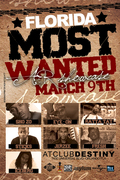 NEXT 2 BLOW INC. PRESENTS: FLORIDA'S MOST WANTED A&R SHOWCASE