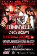 LIVE DJ SETS BY TOMMY LEE VS T-PAIN SUPERBOWL BASH