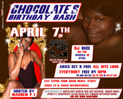 CHOCOLATE BIRTHDAY BASH