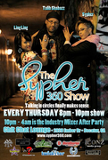 THURSDAYS @9PM LIVE TAPING!! THE SYPHER 360 SHOW!!! @CHIT CHAT LOUNGE & ONLINE www.SYPHER360.com