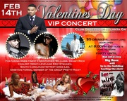"FEB 14th VALENTINES DAY VIP CONCERT @OBSESSIONS ""GROWN & SEXY"" CHRISTOPHER WILLIAMS & FRIENDS LIVE!!"