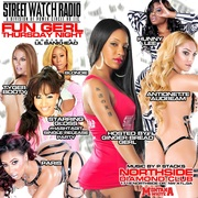 FUN GERL THURSDAYS! @DIAMONDCLUB (1715 NORTHSIDE DR. ATL) HOSTED BY STREET WATCH RADIO'S GINGERBREADGERL & LIL BANKHEAD!