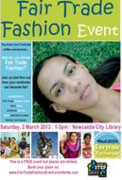 Fairtrade Fashion Show At Newcastle City Library