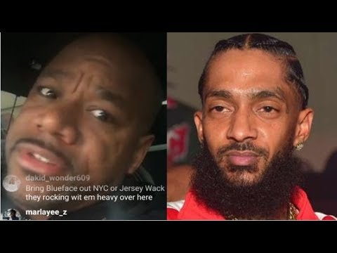@WACK100 Snaps On RAPPERS, ACTORS, BALL PLAYERS For Not Supporting NIPSEY HUSSLE