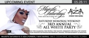 MAJESTIC SATURDAYS, Memorial Weekend All White Party