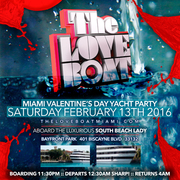 THE LOVE BOAT 2020 MIAMI VALENTINE'S DAY WEEKEND YACHT PARTY