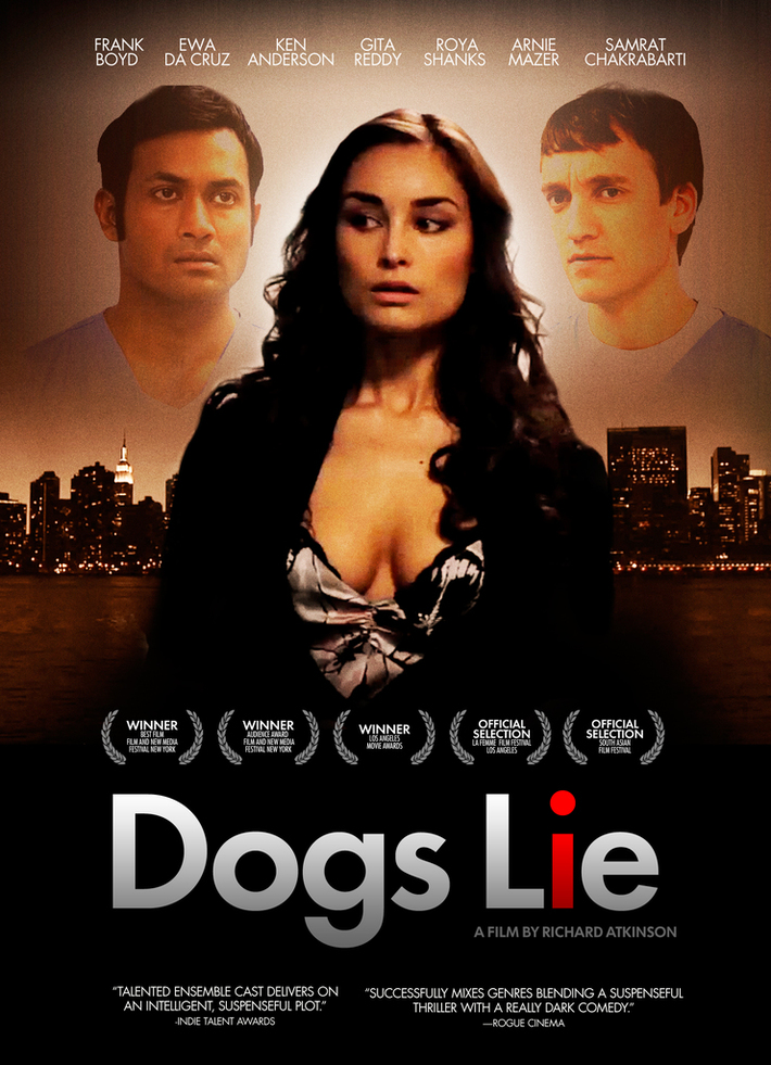 Poster for award winning DOGS LIE movie