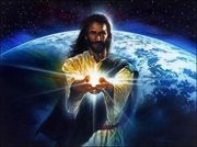 Jesus light world
