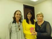 Eu com Stela - De coração a Coração e Sandra Luz -  Arcturianos - evento Kryon - Lee Carrol