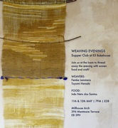 Weaving Evening Supper Club