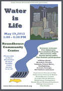 *Water is Life Event - what healthy water means to us all - May 19