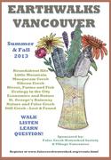 *Earthwalks Vancouver August/September