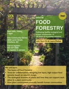 free intro to FOOD FORESTRY