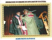 Bishop Albert Doctorate graduation