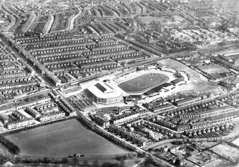 Aerial Photo of Harringay Stadium & Arena c1940
